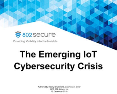 The Emerging IoT Cybersecurity Crisis