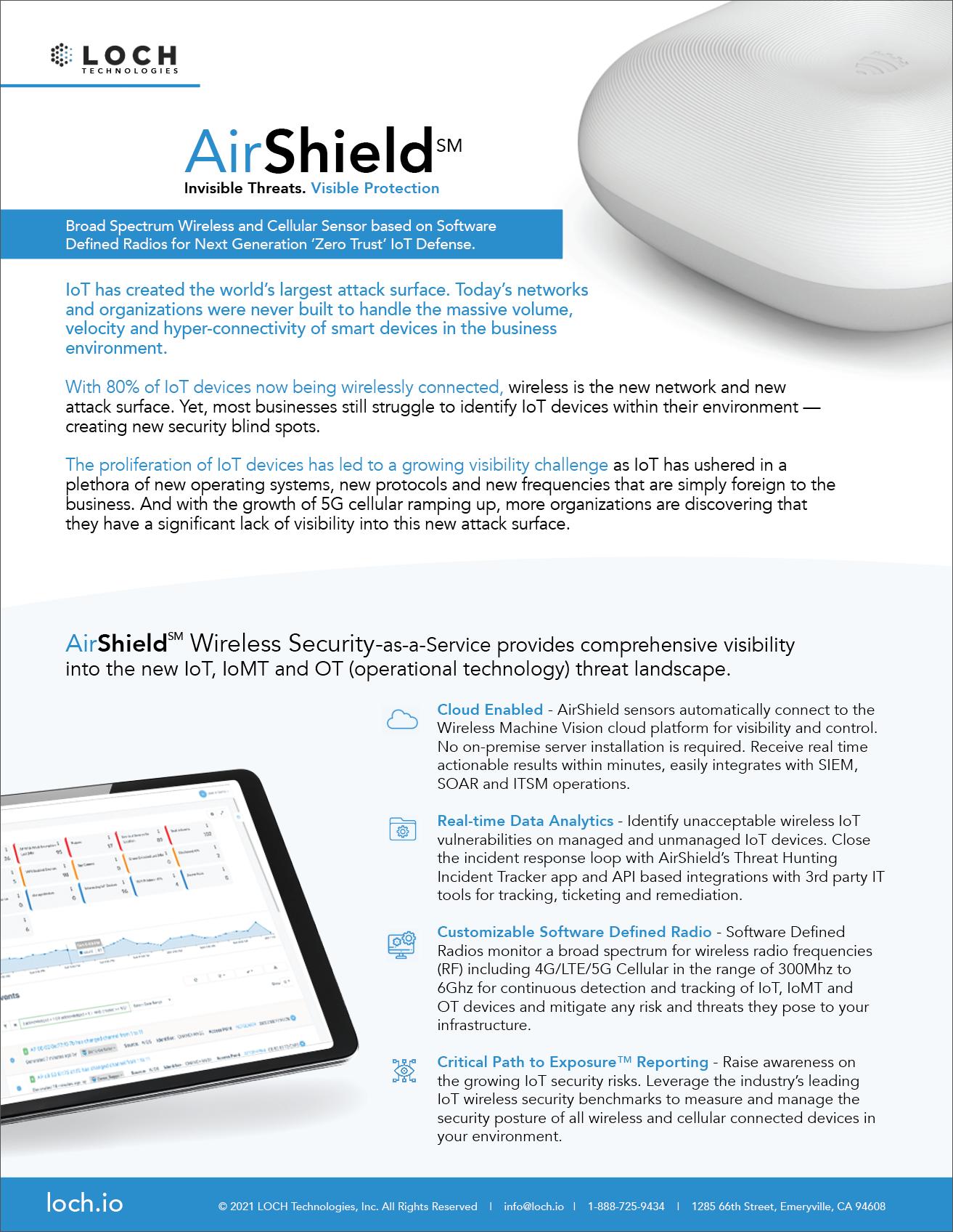 Wireless IoT Security
